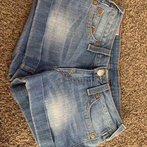 True Religion shorts size 28